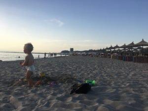 Golem, pláž