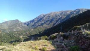 Albánske hory, oblasť Vuno