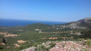 Albánske more a hory, oblasť Vuno