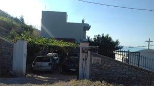 Albánsko, Villa Filip, Vuno