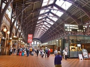 vlaková stanica kodan