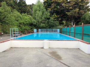 Bazén, dovolenka, Nový Zéland