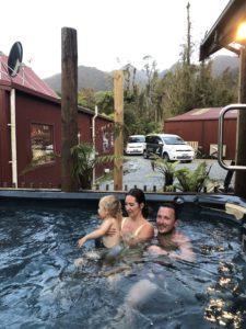 Jackuzzi, Rainforestretreat, Nový Zéland